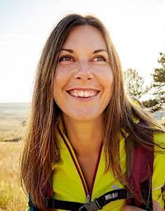 Portrait of Elisha Celeste Smiling on a Sunny Day
